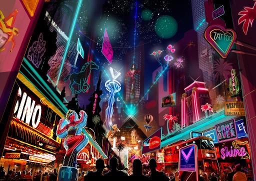 The Flamingos - Decentralands First Mega Casino