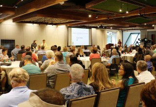 Over 200 attendees participated in the Cleantech Talks
