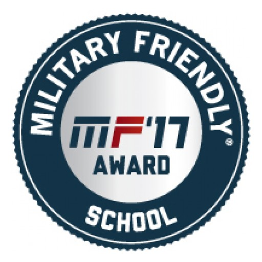 American College of Healthcare Sciences Named a 2017 Military Friendly® School for 8th Year in a Row