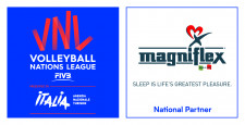 Magniflex National Partner at the Volleyball Nations League