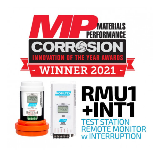 MOBILTEX Wins Materials Performance 2021 Corrosion Innovation of the Year Award