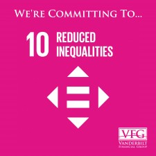 Vanderbilt Financial Group Commits to SDG 10 for one year and a day