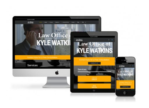 Orlando Marketing Agency Builds Website for Law Office of Kyle Watkins