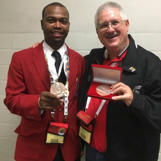 HVAC Student Deshia Peters Places in SkillsUSA Championship