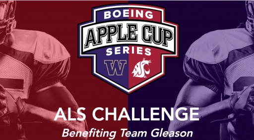 WSU and UW Alums Launch ALS Apple Cup Challenge in Support of Team Gleason and People Living With ALS