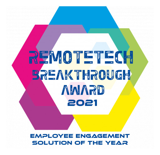 Voodle Wins 'Employee Engagement Solution of the Year' in 2021 RemoteTech Breakthrough Awards Program
