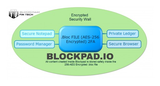 Bloc10 Releases Blockpad Secure Notepad, Personal Ledger, and Encryption Tool