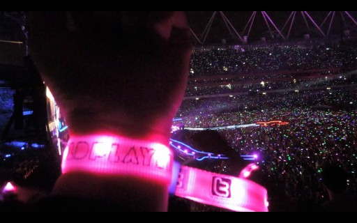 Coldplay's Mylo Xyloto Tour Launched Xylobands LED Wristbands Worldwide