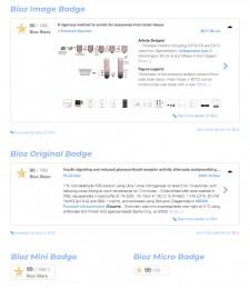 Bioz Badges