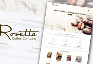 Rosetta Coffee Home Page