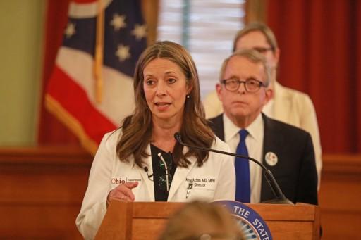 Dr. Amy Acton Announced as 2020 Spirit of Columbus Award Winner