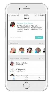 VentureApp Chat