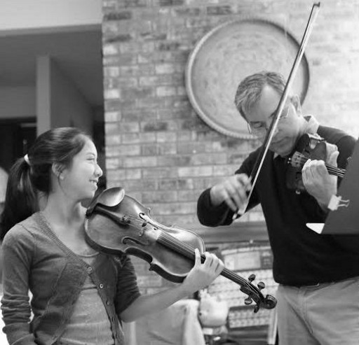 MUSIC ACCOMPANIES PEACE - Violinist Creates Music App Free for Students in War-Torn Countries