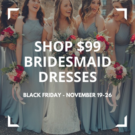 Kennedy Blue Announces Best Sale of the Year for Black Friday Available Online and In-Store at Wedding Shoppe, Inc.