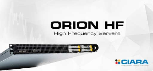 CIARA to Preview the Latest ORION HF Server Platforms Based on Intel's Skylake X Core I9 Processor and Intel's X299 Chipset at the Trading Show Chicago