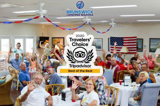 Brunswick Landing Marina, Inc. Recognized Among Best of the Best by TripAdvisor