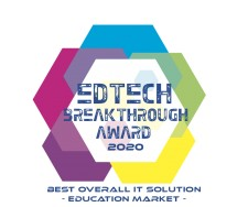 ManagedMethods Named a Winner of the 2020 EdTech Breakthrough Awards