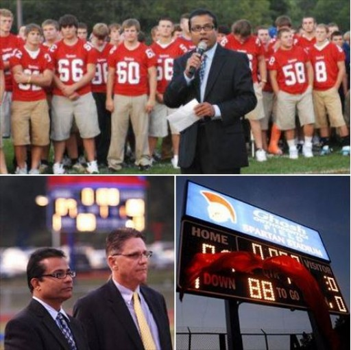 Dr. Sam Ghosh Celebrates 7th Anniversary of the Ghosh Orthodontics Field at Spartan Stadium