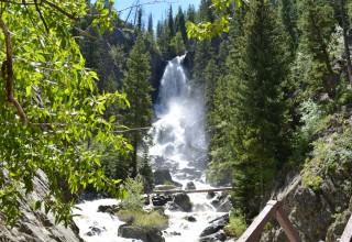 Fish Creek Falls, near Steamboat Springs