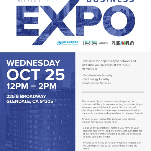 TENTEN Wilshire: October Business Expo —You're Invited!