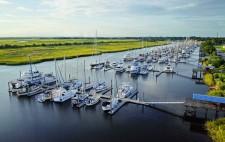 Brunswick Landing Marina in Brunswick, GA.
