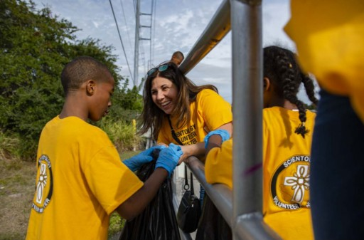 Cleanup and BBQ Bring the Community Together