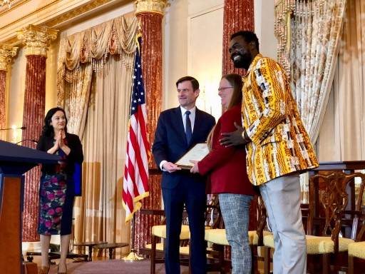 Alaffia Founders Receive Corporate Excellence Award in Washington, D.C.