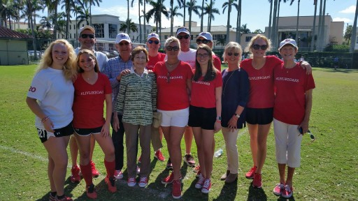 Red Sneakers for Oakley 3rd Annual Memorial Soccer Tournament