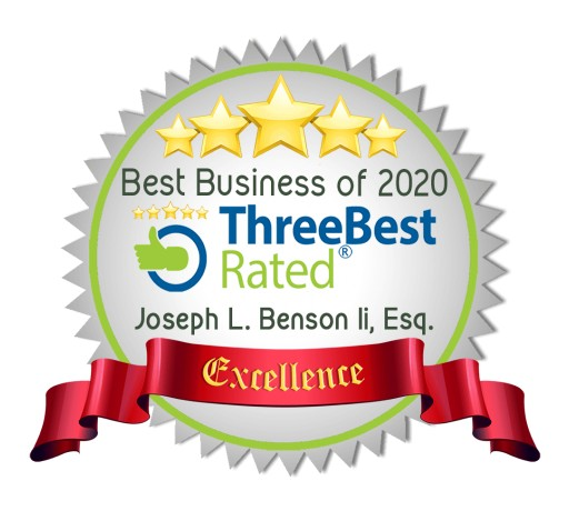 Benson & Bingham Awarded Best Personal Injury Lawyers in Las Vegas by the Three Best Rated®