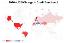 2020 - 2021 Change in Credit Sentiment