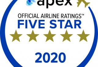 APEX 2020 Five Star Official Airline Rating
