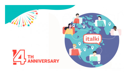 italki Celebrates 14th Anniversary