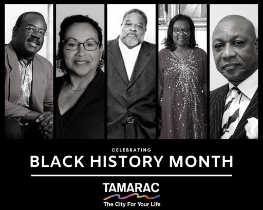 Tamarac Honors Five During Black History Month