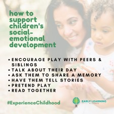 How to support your child's social-emotional development