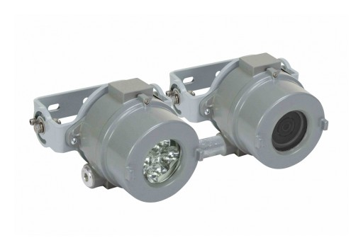 Larson Electronics Releases Explosion-Proof Network IP Camera, Built-in LED, 2.0MP, 12/24V DC