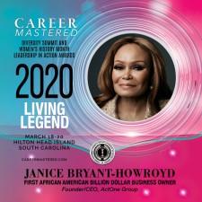 Career Mastered 2020 National Living Legend