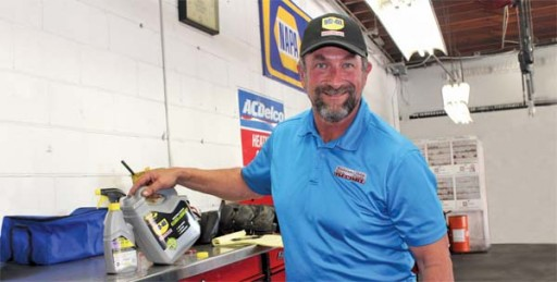 Autobody News: Business Owner Depends on WD-40 Products to Maximize Time & Provide Excellent Results for His Shop