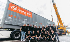 Gebrüder Weiss Sponsors Swissloop Tunneling at Not A Boring Competition in Las Vegas in September.