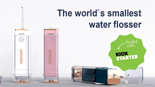 The World's Smallest Smart Water Flosser is Available Online