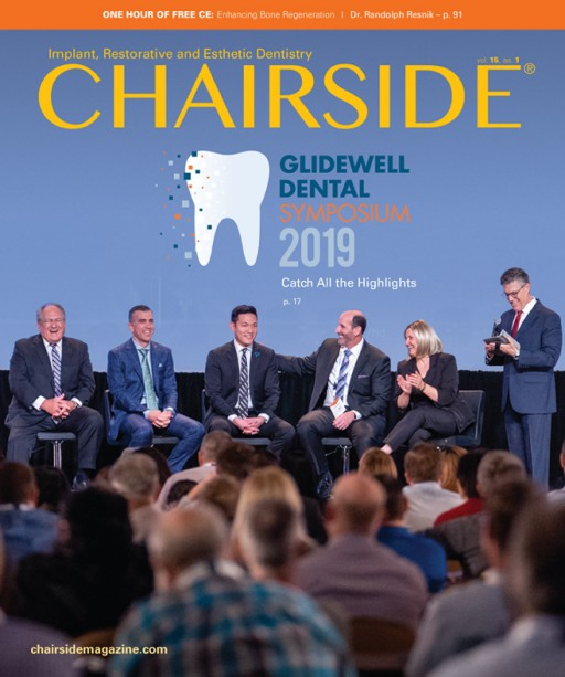 Glidewell Releases New Edition of Chairside® Magazine