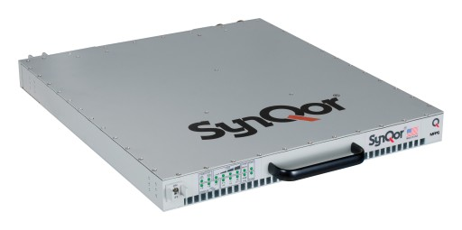 SynQor® Releases an Advanced Military Field-Grade, 3-Phase, Programmable Output Power Supply MPPS-4000