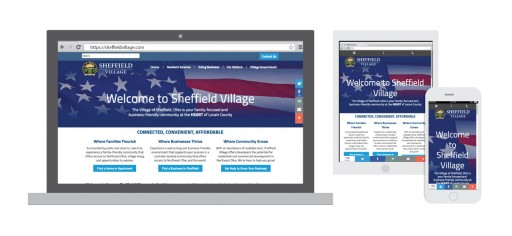 Sheffield Village, Ohio Selects Aespire CityBrand Website Platform to Boost Economic Development and Community Growth