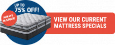 75% off Name Brand Mattresses