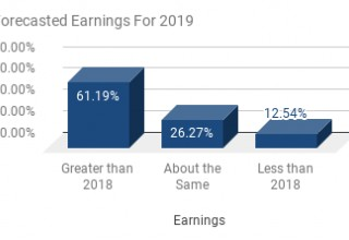 Forecasted Earnings For 2019