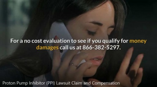 Proton Pump Inhibitor (PPI) Lawsuit Claim-Call 866-382-5297