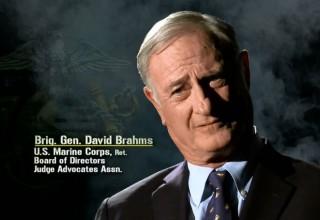 Brigadier General David Brahms, U.S. Marine Corps, Ret.