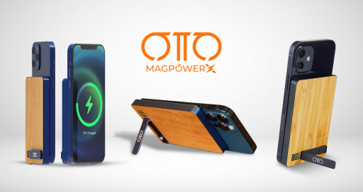 Otto Case Gladly Introduced Their Newly Launched OttoMag-PowerX Wireless Charger Power Bank to Kickstarter