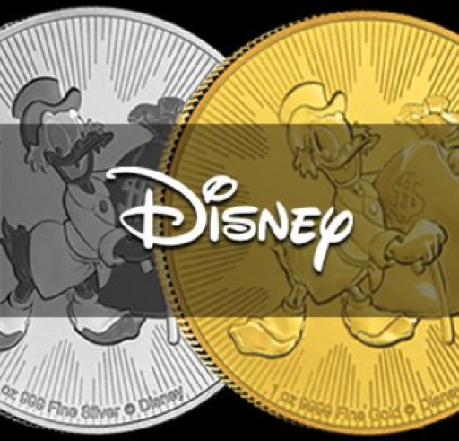 Scrooge McDuck Silver Coins Are What 2018 is All About
