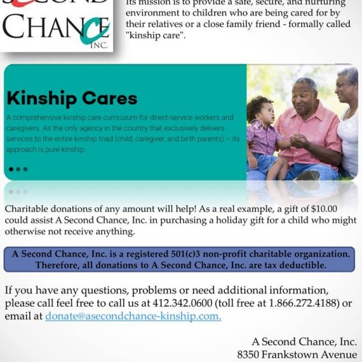 TENTEN Wilshire: A Second Chance, Inc. Provides Kinship Care Assistance for Children and Caregivers
